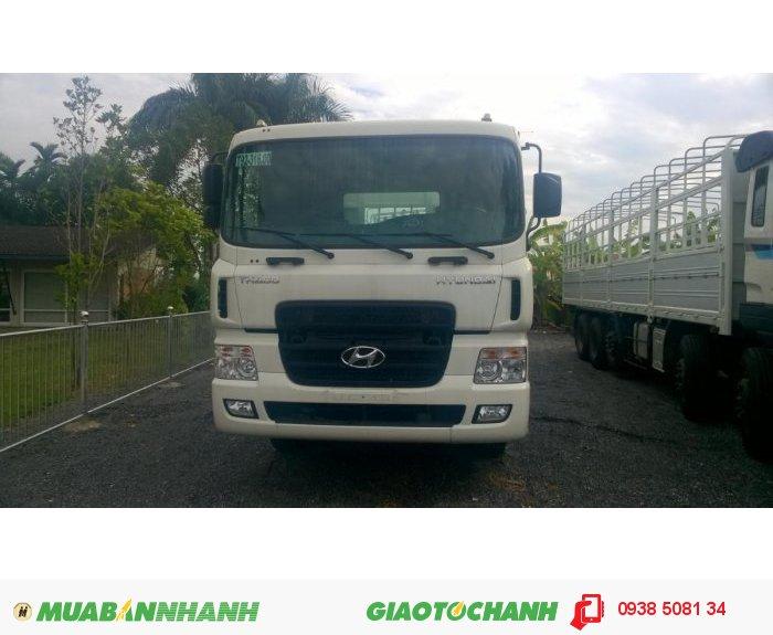 Xe tải HD320 (380PS) 4 chân, tải trọng 18 tấn nhập khẩu 100% từ Hàn Quốc 1