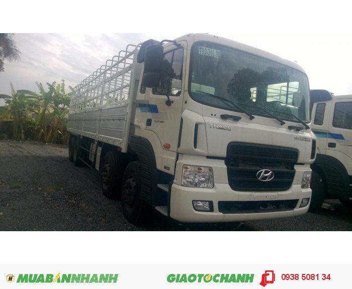 Xe tải HD320 (380PS) 4 chân, tải trọng 18 tấn nhập khẩu 100% từ Hàn Quốc 2