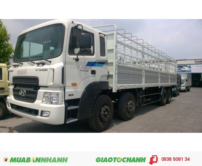 Xe tải HD320 (380PS) 4 chân, tải trọng 18 tấn nhập khẩu 100% từ Hàn Quốc 3