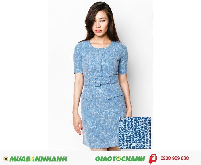 Đầm tay lỡ 2 túi trước | Mã: AD235-Xanh | Giá: 788000 Quy cách: 84-66 (+-2) chiều dài tb: 85cm - 90cm | chất liệu: kaki bố | Size (S - M - L - XL) | Mô tả: Thiết kế với màu xanh nhẹ nhàng, thu hút, rất thích hợp khi đi gặp đối tác hay đến nơi làm việc., 2