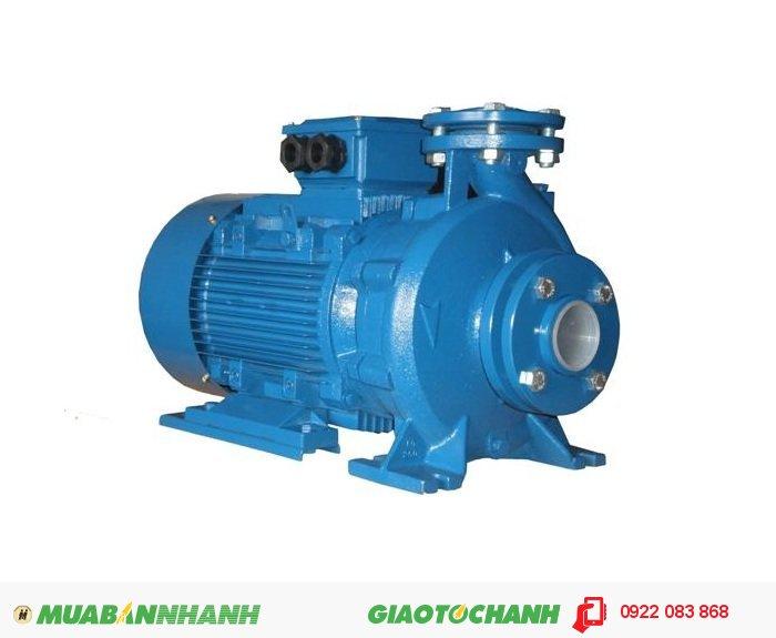 Máy bơm nước 10m3/h PENTAX CM 80-200BGiá: 24.800.000Điện 30 KW, lưu lượng 84-225KW, cột áp 50.8-38.6m, 2