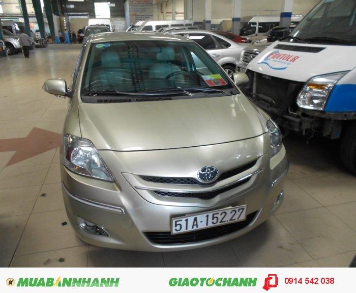 Toyota Vios sản xuất năm 2007 Số tự động Động cơ Xăng