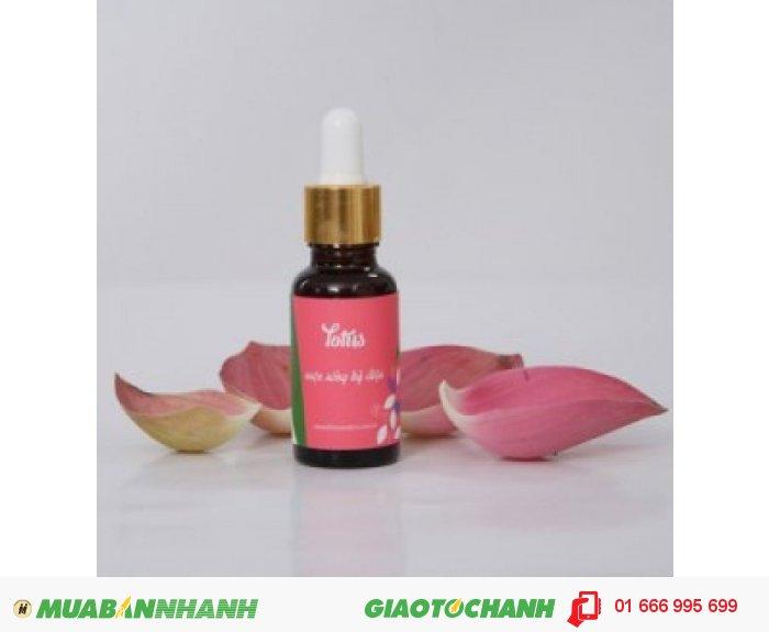 Tinh dầu Lotus (Hoa Sen) | Mã sản phẩm: TD23020C | Giá bán: 395.000 | Dung tích: 20ml | Mô tả: Giúp da trắng hồng, mịn màng, thư giãn, giảm căng thẳng, mệt mỏi, an thần, cân bằng cảm xúc, chống stress, điều hoà khí huyết., 4