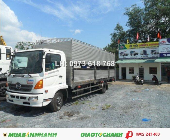 Bán xe tải Hino FC 6 tấn chở Gia súc, Gia cầm, Chở gà, chở Vịt