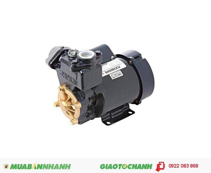 Máy bơm nước 500m3/h Shimizu PS 121 BIT:Giá: 970.000Loại tự động: 125WCông suất:125 WLưu lượng tối đa: 35 lít/ phútNguồn điện: 220V/1phaĐộ sâu hút tối đa: 9mỐng hút và đẩy: 25mmTổng cột áp tối đa: 40mCông tắc áp lực: 1,1 - 1,8 kgf/ cm3Xuất xứ: Indonesia, 5