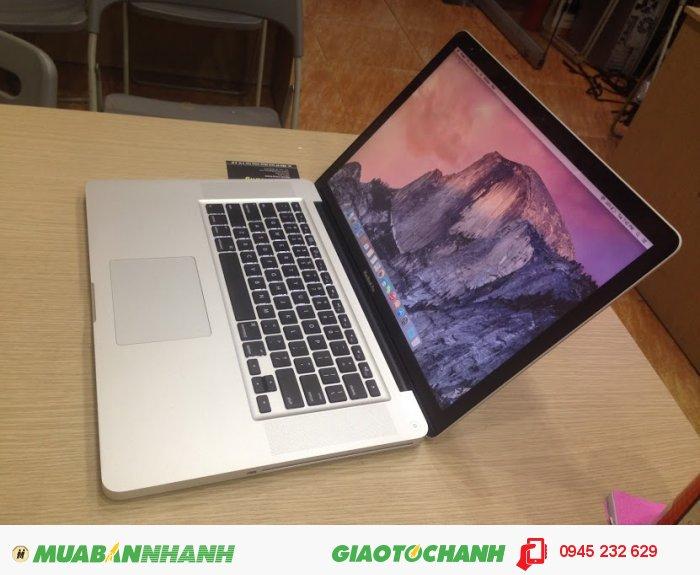 Macbook pro 15 Core i7 MD322 | RAM: 8GB  DDR3 bus 1333Mhz ( còn trống 1 khe để nâng cấp)0
