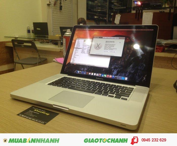 Macbook pro 15 Core i7 MD322 | Ổ cứng: HDD 500G truy xuất cực nhanh tha hồ2