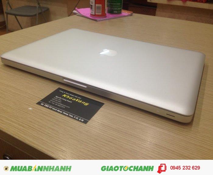 Macbook pro 15 Core i7 MD322 | Máy có 2 Card màn hình: Graphics: Intel HD Graphics 3000 + Card rời AMD 6750M 1G DDR5  chuyên game đồ họa thoải mái3