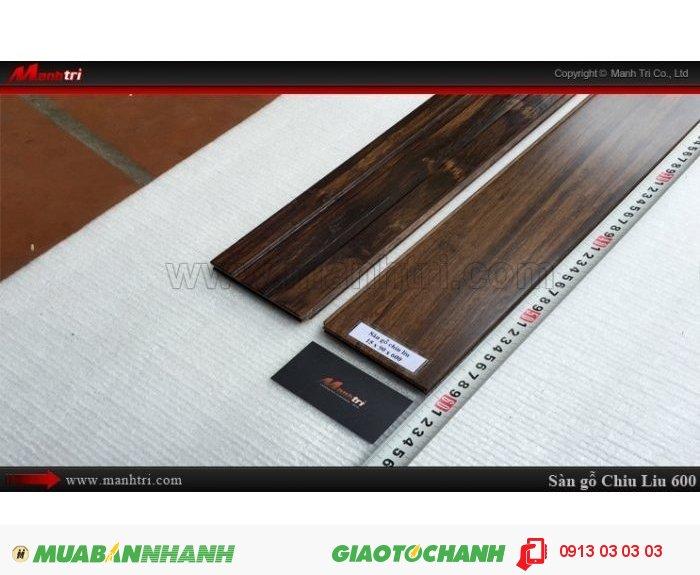 Sàn gỗ tự nhiên Chiu Liu 600mm | Kích thước (L x W x H): 600mm x 90mm x 15mm | Trọng lượng: 15.00kg | Sàn gỗ Chiu liu 600mm có thể chống được mục, không bị mối ăn nên sản phẩm thường được khá nhiều khách hàng lựa chọn trong xây nhà, làm đồ gia dụng, làm sàn gỗ, trụ cầu thang…Giá bán: 880.000VND, 3