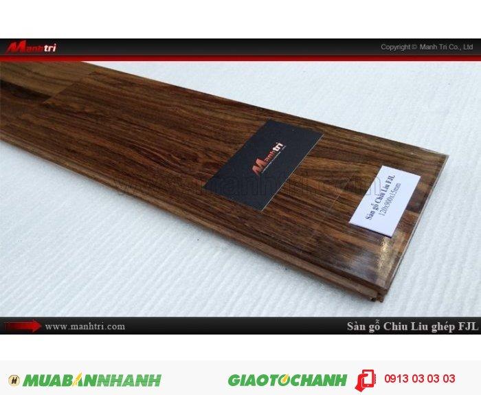 Sàn gỗ tự nhiên Chiu Liu ghép FJL | Qui cách: 15 x 120 x 900 mm | Sàn gỗ Chiu liu ghép FJL có thể chống được mục, không bị mối ăn nên sản phẩm thường được khá nhiều khách hàng lựa chọn trong xây nhà, làm đồ gia dụng, làm sàn gỗ, trụ cầu thang…Giá bán: 720.000VND, 5