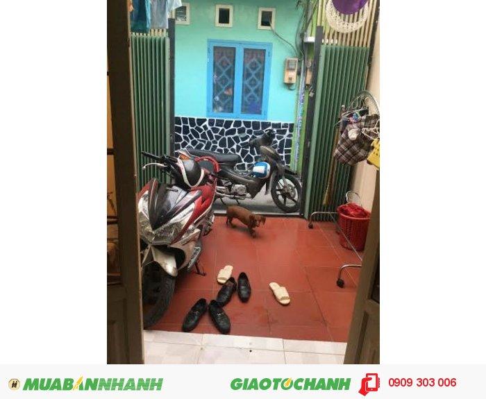 Bán nhà đường Phan Văn Trị quận Bình Thạnh giá 1,68 tỷ