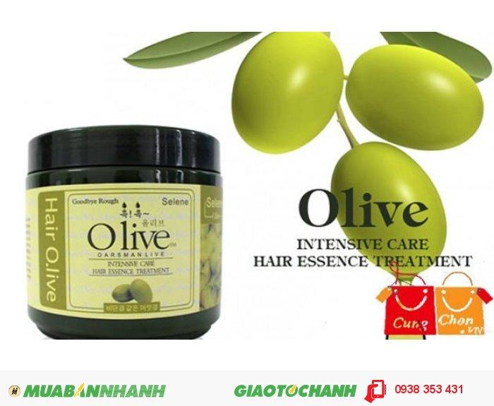 Dầu Hấp Ủ Tóc Olive Hàn Quốc1