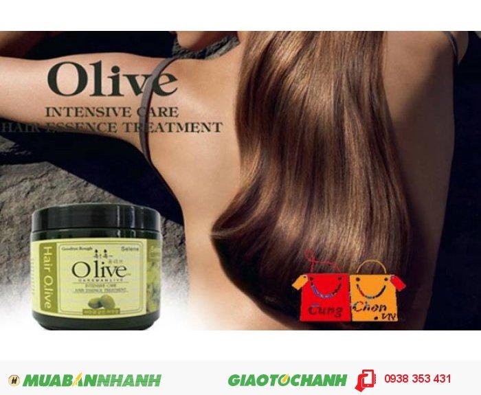 Dầu Hấp Ủ Tóc Olive Hàn Quốc2