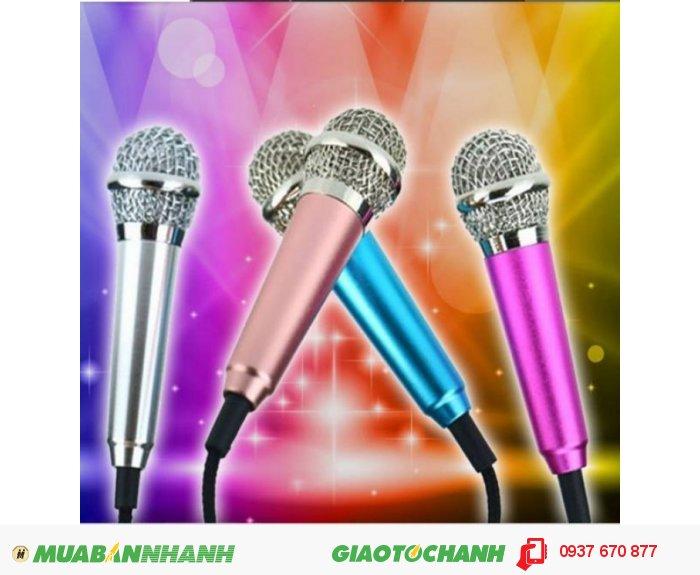Mic hát karaoke cho điện thoại1