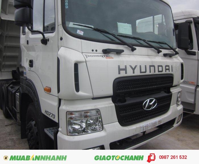 Hyundai HD270 sản xuất năm 2015 Số tay (số sàn) Xe tải động cơ Dầu diesel