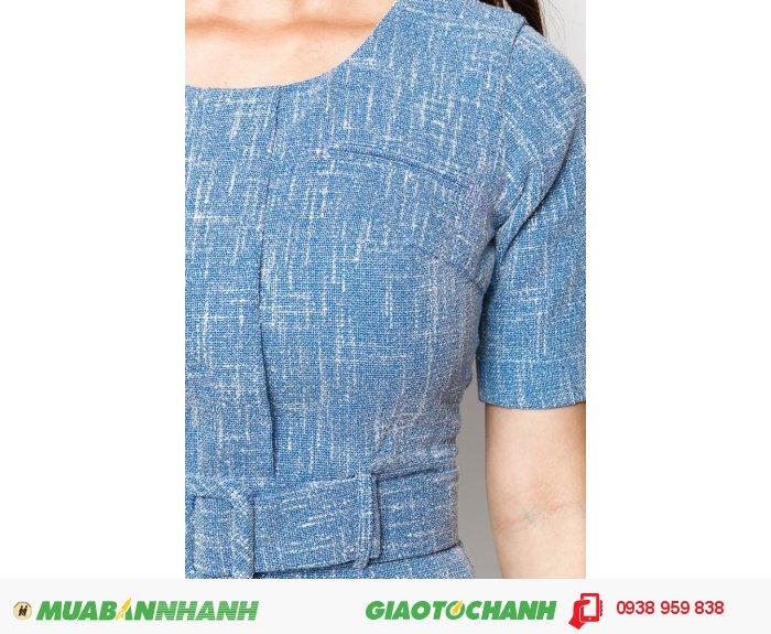 Đầm tay lỡ 2 túi trước | Mã: AD235-xanh| Giá: 788000 Quy cách: 84-66 (+-2) chiều dài tb: 85cm - 90cm | chất liệu: kaki bố | Size (S - M - L - XL) | Mô tả: Thiết kế đi kèm dây lưng tạo điểm nhấn thu hút và khéo léo khoe vòng eo thon gọn của bạn., 4