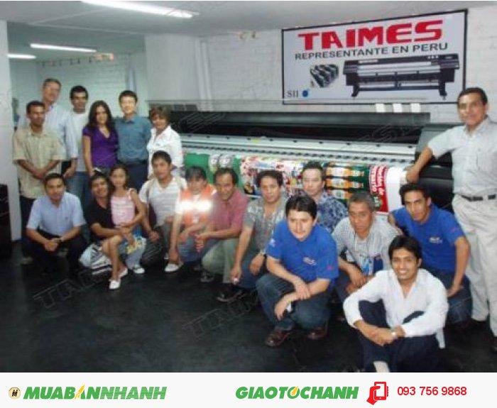 Để được tư vấn thêm về sản phẩm trên, bạn có thể gọi cho chúng tôi để biết thêm nhiều thông tin về máy in phun khổ lớn Taimes 3208SN., 4