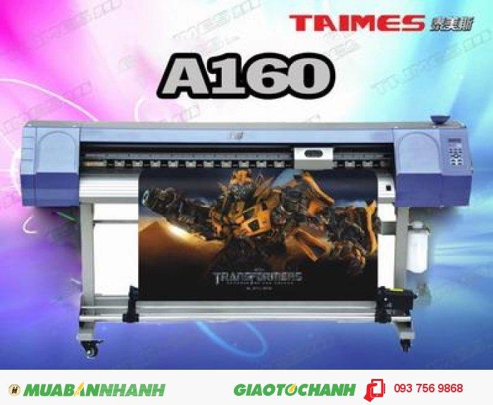Máy in phun Taimes A160 | Giá: 130.000.000 | Mô tả: Model: Taimes A160. Đầu phun: Epson đ��...
