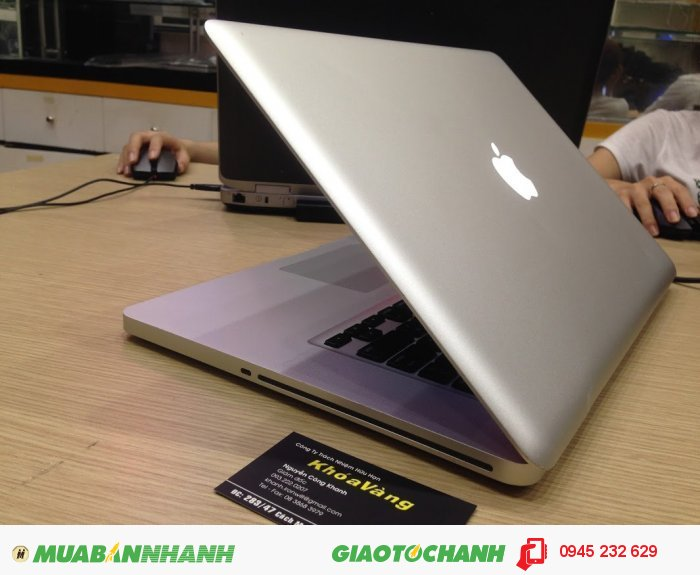 Macbook pro 15.4 mid 2010 core i7 MC373 | CPU: Core i7 2.66GHz Turbo Boost up to 3.33 GHz  xử lý cực nhanh