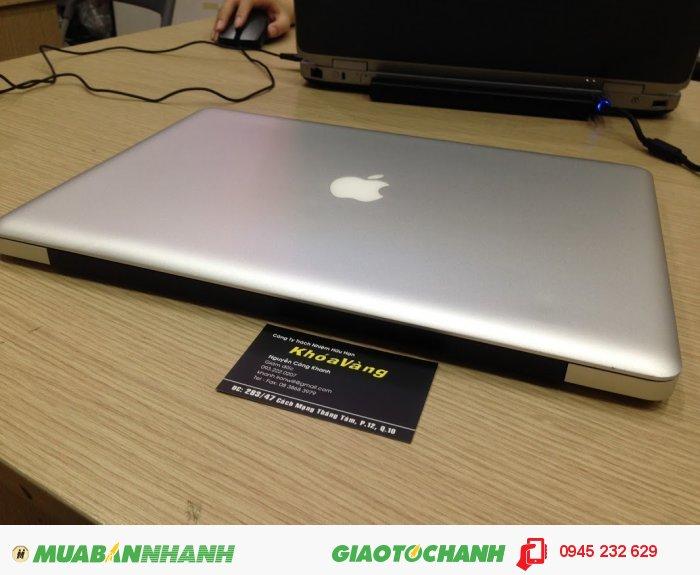 Macbook pro 15.4 mid 2010 core i7 MC373 | Màn hình: 15.4-inch LED-backlit ; độ phân giải cao 1680 x 1050 chuẩn không cần chỉnh
