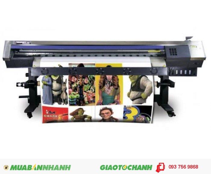 Máy in phun Taimes A180 | Giá: 140.000.000 | Mô tả: Model: Taimes A180. Đầu phun: Epson đời thứ 5. Khổ in: 1800mm. Tốc độ in phác thảo: 18m2/h. Tốc độ in sản xuất: 15m2/h,. Tốc độ chất lượng: 10m2/h. Loại vật liệu : Glossy giấy ảnh, PP giấy, keo dán, backlit film, vải silk, vv. Các loại mực in: mực nước , mực dung môi, thuốc nhuộm-thăng hoa mực.Phần mềm RIP: Main Top 5.3. Độ cao đầu phun: 1-3mm. Hệ thống vòi phun làm sạch: Tự động làm sạch hệ thống, hệ thống tự động độ ẩm. Sấy sơ bộ, hệ thống sấy: Điều chỉnh làm khô. Dữ liệu giao diện: USB 2.0. Nguồn điện, điện áp: AC 100~220V.50HZ/60HZ. Kích thước máy: L2830x W740 x H 1280mm. Kích thước bao bì: L3020x W740 x H 970 mm.