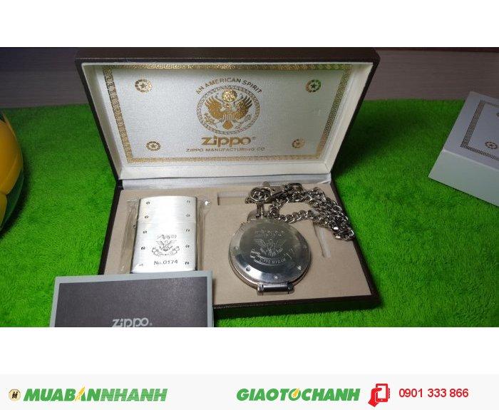 Zippo Limited Edition Silver. Năm 20010