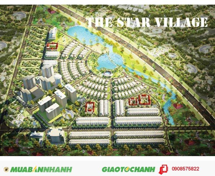 CĐT Intresco mở bán đất nền dự án The Star Village. Giá chỉ 8.5tr/m2