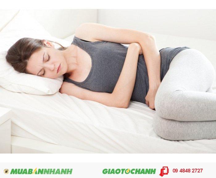 Với nhiệt độ nóng tự nhiên, chỉ cần chườm túi vào vùng bụng, nằm thư giãn, túi chườm bụng sẽ giúp bạn giữ ấm vùng bụng, giảm bớt các triệu chứng khó chịu khác. Đặc biệt, túi còn có tác dụng tốt với những triệu chứng khó tiêu, đầy hơi, táo bón., 3