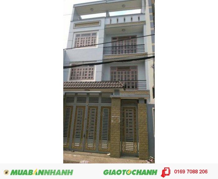 Bán Nhà Tại 822 Hương Lộ 2, Quận Bình Tân. (8Mx17M) (Shr), 3.5 Tấm, Lộ Giới 8M Xuyên Ao Đôi