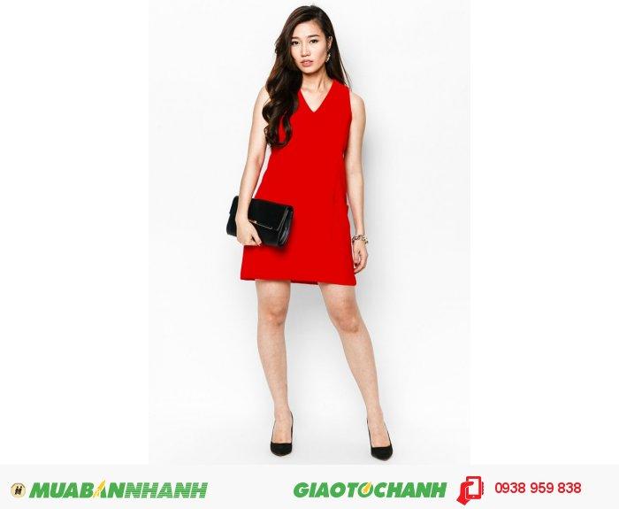 Đầm suôn phối cúp 2 túi | Mã: AD214-đỏ | Giá: 488000 Quy cách: 84-66-90 (+-2): chiều dài tb: 85cm - 90cm | chiffon lạnh | Size (S - M - L - XL) | Mô tả: Muốn nổi bật hơn bạn có thể chọn mẫu váy suông cá tính với gam màu đỏ nổi bật cá tính như trên., 4