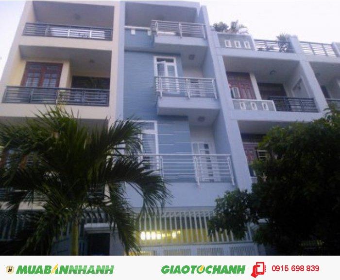 Nhà biệt thự 1 trệt 3 lầu mặt tiền đường Nguyễn Tuyển