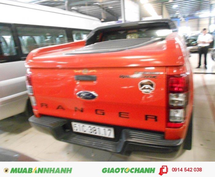 Bán Ford Ranger Wiltrack 2.2L màu cam chạy lướt bstp 1