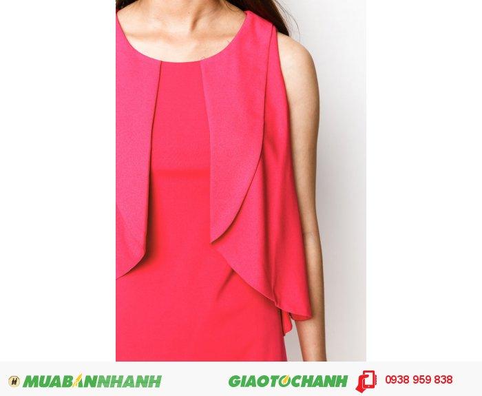 Đầm suôn bèo trước| Mã: AD230- hồng| Giá: 498000 Quy cách: 84-66-90 (+-2): chiều dài tb: 85cm - 90cm | chất liệu: thun 4 chiều | Size (S - M - L - XL) | Mô tả: Thiết kế bèo nhẹ nhàng tạo nét dịu dàng cho nàng, càng quyến rũ hơn khi đi cùng gam màu hồng nổi bật., 2