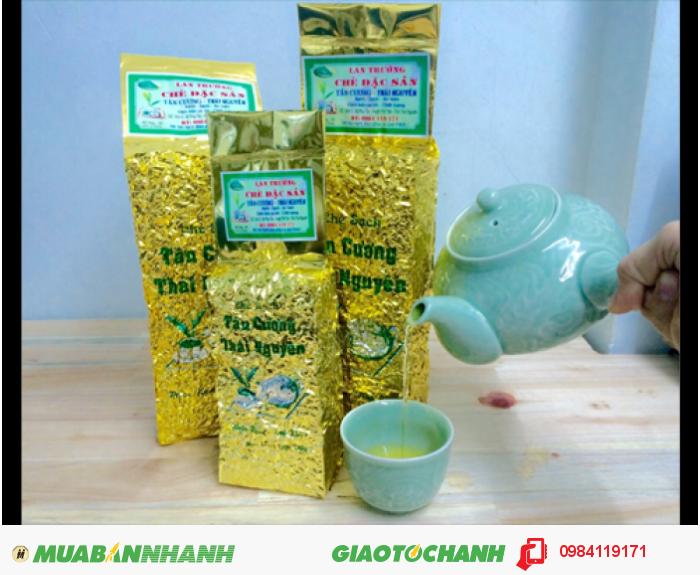 Trà xanh Tân Cương Thái Nguyên chất lượng hảo hạng - nguyên chất 100%0