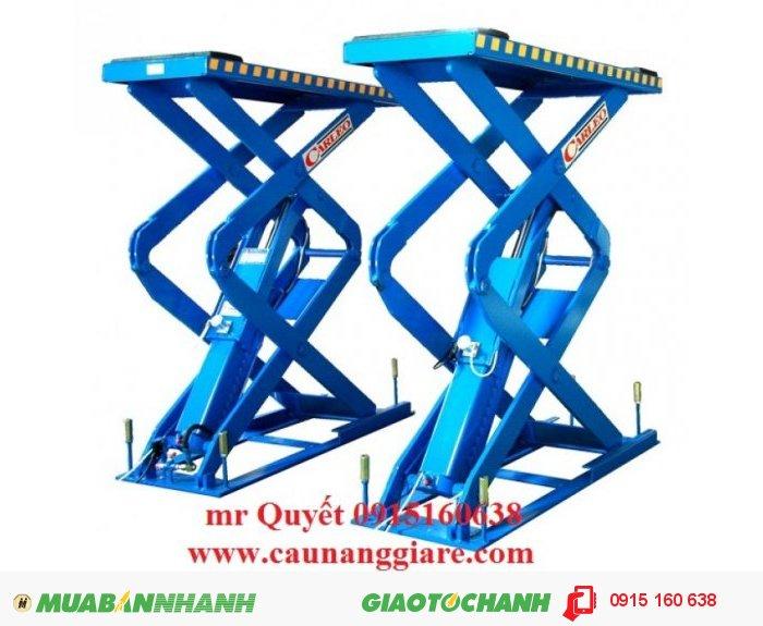 Cầu nâng cắt kéo kiểu nâng bụng Carleo