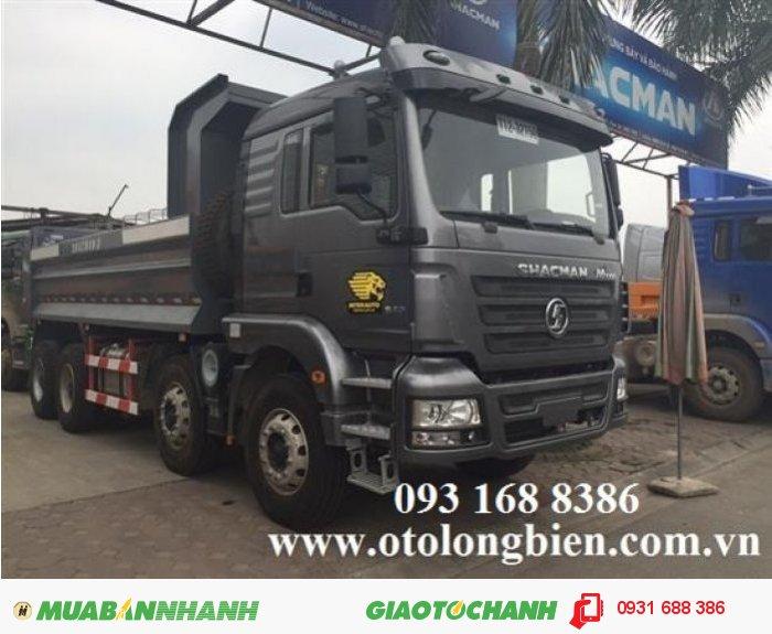 Xe ben 3 chân shacman tải trọng 12-13 tấn thùng 10m3 tại Hà Nội 2015, 2016