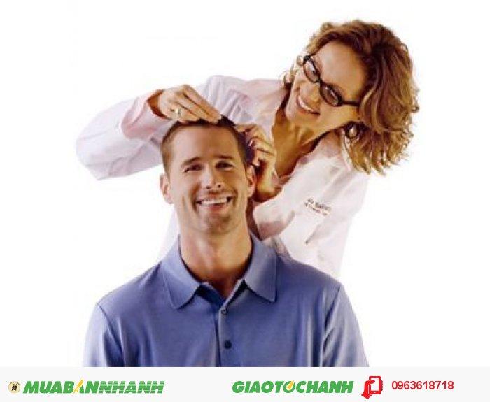 Ngay cả các quý ông cũng không còn lo lắng vì tóc rụng nữa, Hair Revitalash giúp đẩy mạnh nang tóc mọc nhanh với tinh chât Swertia Japonica sẽ giúp các nang tóc phát triển mạnh mẽ và dày hơn., 4