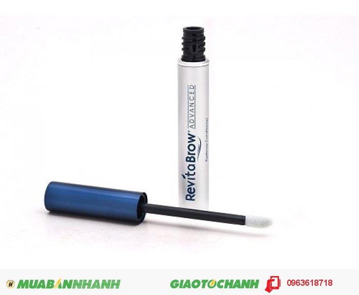 RevitaBrow EyeBrow của hãng Revitalash được đánh giá là sản phẩm mọc lông mày tốt nhất của Mỹ, sử dụng công nghệ hiện đại nhất cung cấp các hoạt chất nuôi dưỡng lông mày giúp chống lại tình trạng rụng và thưa., 1