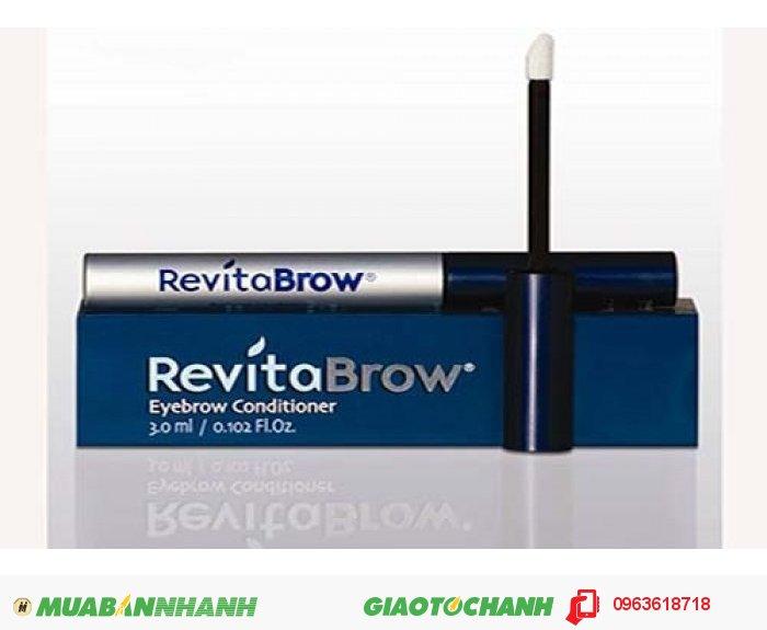 RevitaBrow EyeBrow - Serum Mọc Lông Mày Tốt Nhất Của Mỹ. RevitaBrow EyeBrow sản phẩm giúp những người lông mày thưa, lông mày bị rụng do mỹ phẩm mọc rậm và dài trở lại. RevitaBrow dùng được cho cả nam và nữ. Chỉ với 4 tuần bạn sẽ làn lông mày rậm., 1