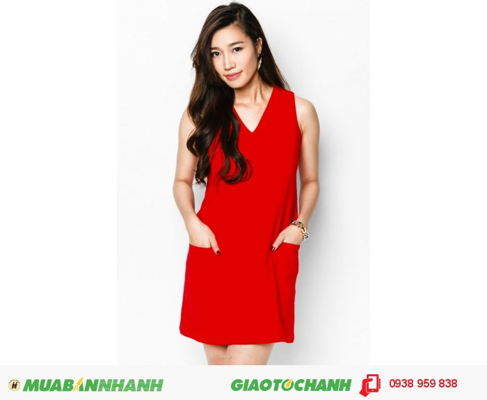 Đầm suôn phối cúp 2 túi | Mã: AD214- đỏ| Giá: 488000 Quy cách: 84-66-90 (+-2): chiều dài tb: 85cm - 90cm | chiffon lạnh | Size (S - M - L - XL) | Mô tả: Đừng quên làm mới mình với gam màu đỏ nổi bật, quyến rũ, dáng váy suông thoải mái giúp nàng tự tin làm việc nơi công sở., 3
