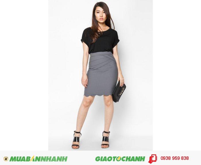 Váy 3 tầng xéo| Mã: AV029-xám | Giá: 348000 | Quy cách: 84-64-88 (+-2) | chất liệu: cotton lạnh | Size (M - L - XL) | Mô tả: Chân váy xám dễ phối cùng bất kì màu áo nào, giúp bạn thêm nổi bật., 4
