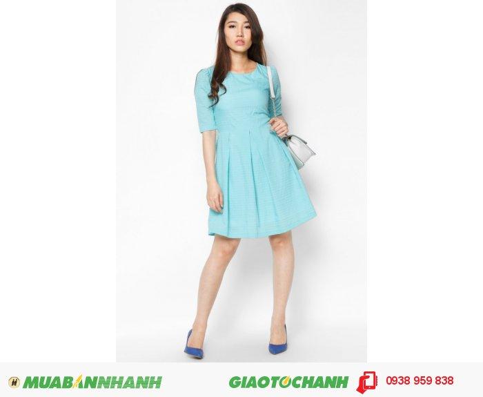 Đầm cổ tròn tay lỡ | Mã: AD228- xanh | Giá 788000 Quy cách: 84-66 (+-2): chiều dài tb: 85cm - 90cm | Chất liệu: lụa cát | Size (S - M - L - XL) | Mô tả: Màu xanh pastel chưa bao giờ giảm nhiệt đặc biệt là trong những thiết kế đầm công sở. Váy xòe đáng yêu giúp nàng thoải mái trong các hoạt động., 5