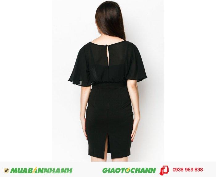 Đầm bèo xẻ trước sau | Mã: AD229-đen | Giá: 598000 Quy cách: 84-64-88 (+-2): chiều dài tb: 85cm - 90cm | chất liệu: lụa cát| Size (S - M - L - XL) | Mô tả: Thiết kế với gam màu đen lại càng không thể thiếu với nàng công sở. Chi tiết đường kẻ trước sau tạo thêm nét quyến rũ cho mẫu váy., 2
