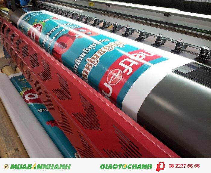 In hiflex khổ lớn giá rẻ, chất lượng bền, tái sử dụng dễ dàng.