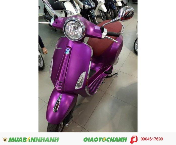 Bán xe Vespa Primavera tại HCM giá tốt - trả góp 0% - tặng bộ quà tặng 6tr5