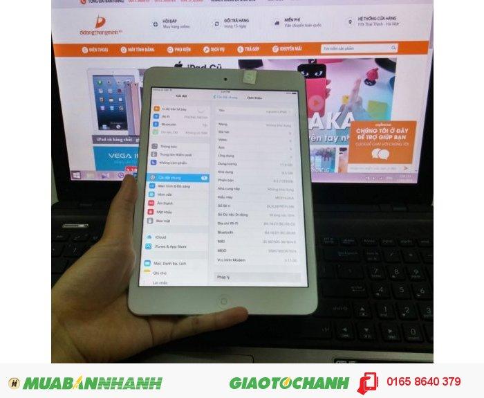 Ipad mini 2 4G WiFi 16gb 99,9% bh 12 tháng1