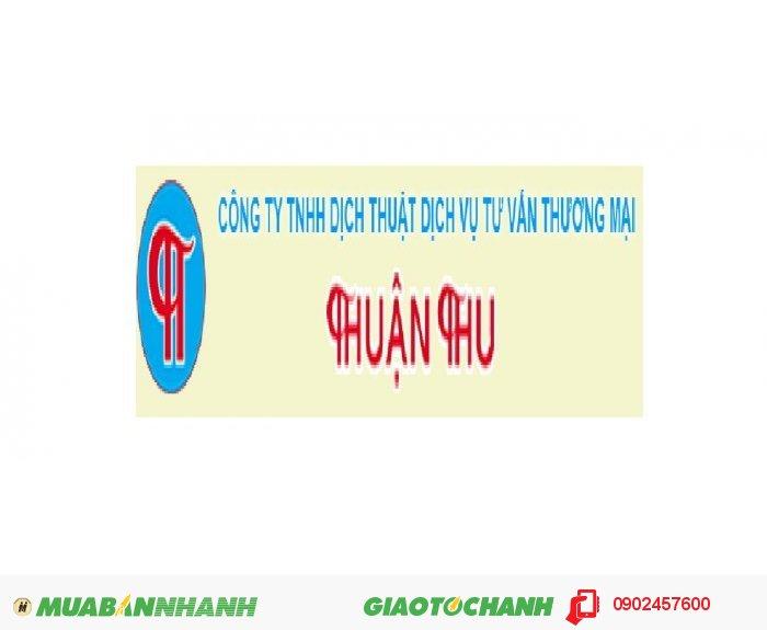 Công ty Dịch thuật - Dịch vụ pháp lý Thuận Thu
