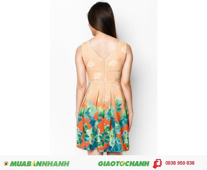 Đầm xòe xếp li | Mã: ADT234- cam| Giá: 398000 Quy cách: 84-64-88 (+-2) chiều dài tb: 85cm - 90cm | chất liệu: kaki thun | Size (S - M - L - XL) | Mô tả: Váy đầm vintage tạo nét duyên dáng, dịu dàng cho nàng., 4