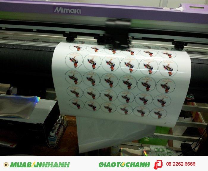 Tem nhãn được in bằng máy in offset hay máy in kỹ thuật số hiện đại, được trán 1 lớp keo và 1 lớp bám dính trên 2 bề mặt của tem nhãn., 1
