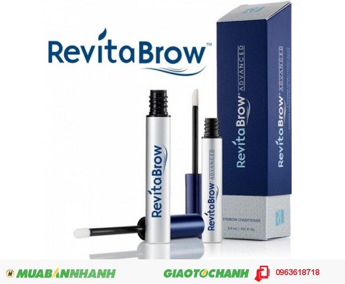 RevitaBrow EyeBrow của hãng Revitalash được đánh giá là sản phẩm mọc lông mày tốt nhất của Mỹ, sử dụng công nghệ hiện đại nhất cung cấp các hoạt chất nuôi dưỡng lông mày giúp chống lại tình trạng rụng và thưa. Chỉ sau 3 tuần sử dụng bạn sẽ có đôi lông mày rậm hằng mong ước., 1
